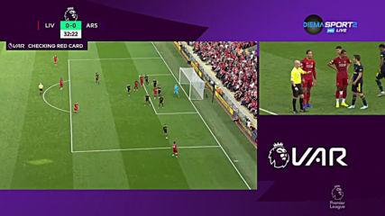 Ливърпул - Арсенал 1:0 /първо полувреме/
