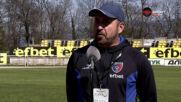 Треньорът на Струмска слава: Чувствам се като истинска звезда