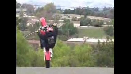 Darius - Stunt Със Crf 450 Supermoto