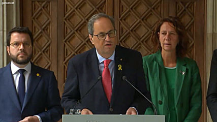 Spain: Catalan president urges President Sanchez to set meeting date for political resolution