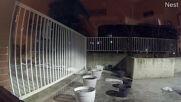 Canada: Home CCTV camera captures meteor as it shoots through night sky