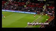 Manchester United Vs Chelsea - Clever Corner Kick Hd.avi