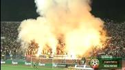 Факли озариха стадион Васил Левски