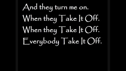 kesha take it off lyrics