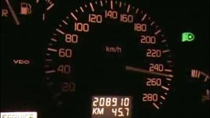 Renault Safrane Biturbo - 270 km/h