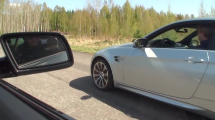 Bmw Alpina B5s vs Bmw M3 Coupe Dct