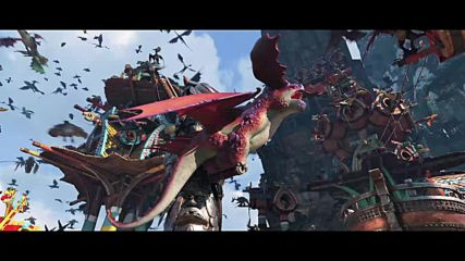 """Как да си дресираш дракон: Тайнствения свят - откъс от филма """"Нова година, нови дракони"""""""