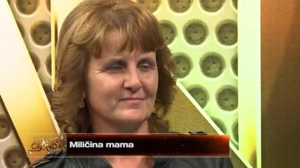 Milica Djordjevic - Isuse (live) - ZG 2014 15 - 22.11.2014. EM 10.