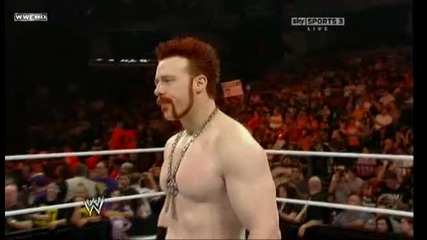 Wwe raw 09.27.10. - Sheamus promo about fiery red hand