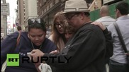 USA: Thousands turn out to greet Pope Francis in New York