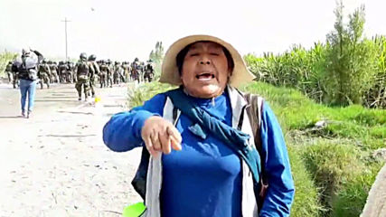 Peru: Clashes erupt between police and mining project protesters