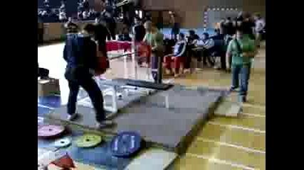 Ивайло Христов - Повдигане по Лег 302.5 кг