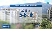 СКОК В ЦЕНИТЕ НА ИМОТИТЕ: Увеличението е с 5-6%