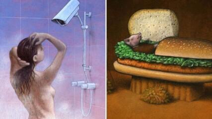 Шокиращи снимки, показващи зависимостта на нашето общество
