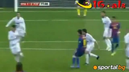 Реал Мадрид - Барселона 1 - 2 18.01.2012