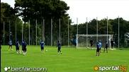 Мюлдер с първа тренировка в Левски