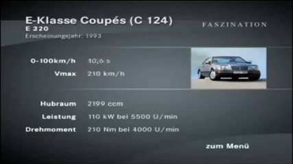 Mercedes W124 - технически данни
