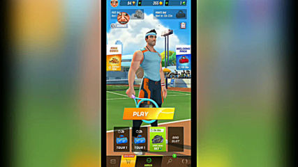 Tennis Clash - Xiaomi Redmi 5 test
