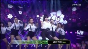 Gilme ft. Cap ( Teen Top ) - Me First @ Inkigayo (19.08.2012)