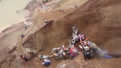 Най-лудото състезание с кросови мотори