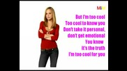 Camp Rock - Too Cool - Karaoke