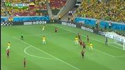 04.07.14 Бразилия - Колумбия 2:1 *световно първенство Бразилия 2014 *