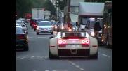 Bugatti Veyron мощ и ускорение!