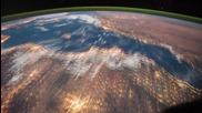 Изглед от космоса - държави