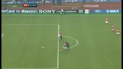 Spartak Moscow v Marseille Sky Highlights - football video - 23.11.10