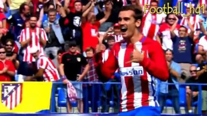 Антоан Гризман-кралят на Атлетико Мадрид 2016/17