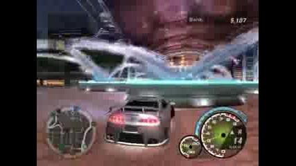 Дрифт С Тойота Супра По Центара (nfsu2)