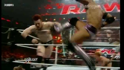 Raw 30.08.10 - Team Wwe vs The Nexus (5 on 5 elimination tag team match) 1/2