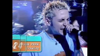 Linkin Park - На живо по Top Of The Pops в Лондон, Англия (24.03.01)