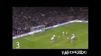 Cristiano Ronaldo - Top 10 Goals - 2007 - 08 Vbox7
