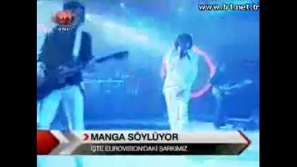 Manga Eurovision 2010 We Could Be The Same (turkey)