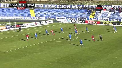 Арда - ЦСКА 0:1 /първо полувреме/