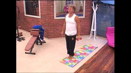Vip Brother 2012 - Къци прави йога
