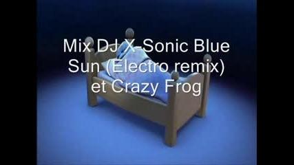 Mix Crazy Frog et Dj X - Sonic