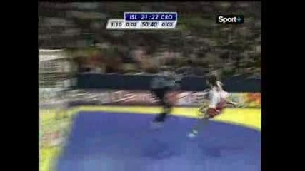 Ivano Balic - Handball freestyle