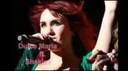 Доказателство че Дулсе Мариа и Шакира са приятелки