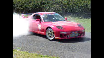 Mazda Rx7 Burnout