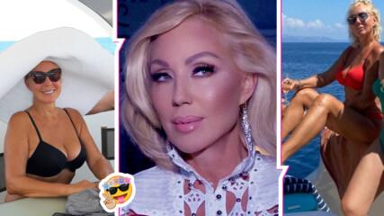 Над 2 месеца ваканция: Лепа Брена пръсна милиони евро за луксозната си почивка
