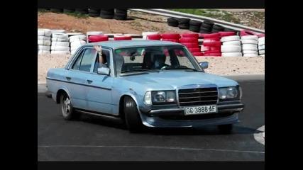 Дрифтър c Mercedes - Benz W123 230e