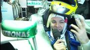 F1 2013 - първи ден от тестовете на пистата Херес с отбора Mercedes Amg [hd]