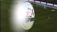 Красив гол на Виктор Валдес Фифа 12 :)
