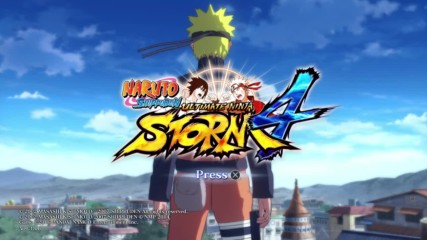 Naruto Shippuuden Ultimate Ninja Storm 4 Епизод 01