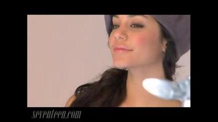 Vanessa Hudgens - Cover Shoot - Seventeen Magazine.flv