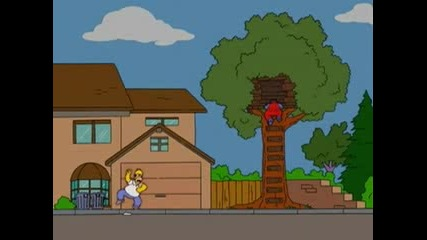 Homer Simpson Vs. Super Mario