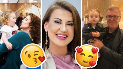 Илиана Раева на седмото небе! Внучето й навърши 2 годинки, ето и снимки!