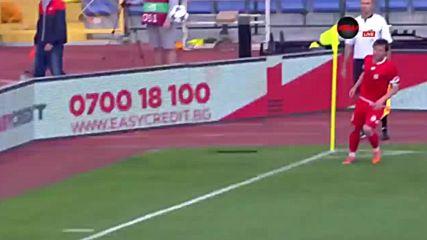 Монтана - ЦСКА 0:1 /първо полувреме/